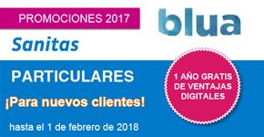 Promoción Blua Nuevos Clientes Sanitas