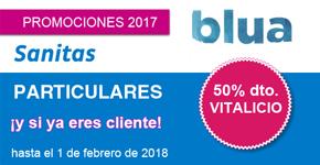 Promoción Blua para Clientes Sanitas